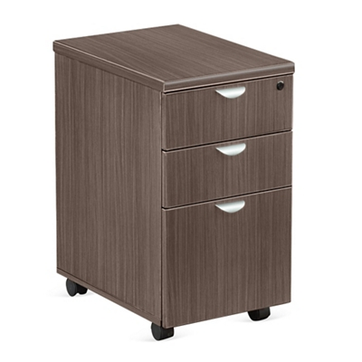 "Esquire 16""W Three Drawer Mobile Pedestal"