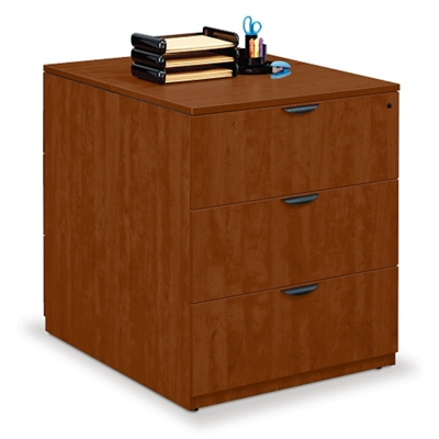 "Double Sided Three Drawer Lateral File - 36""W x 46""D"