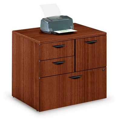 Contemporary Combination File Cabinet