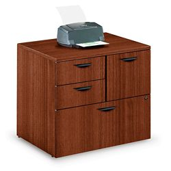 Contemporary Combination File Cabinet