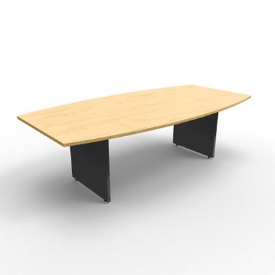 """Boat Shaped Conference Table - 96""""W x 48""""D"""