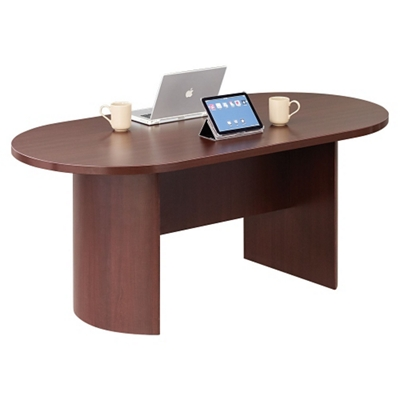 """Encompass Oval Conference Table 72""""W x 36""""D"""