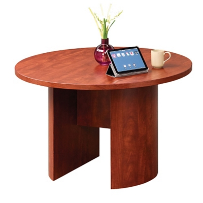 Encompass 48 Round Conference Table With Modesty Panel   40045 And More  Lifetime Guarantee