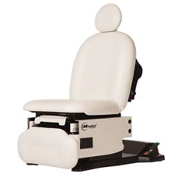 Mobile Adjustable Procedure Chair with Stirrups and Drain Pan