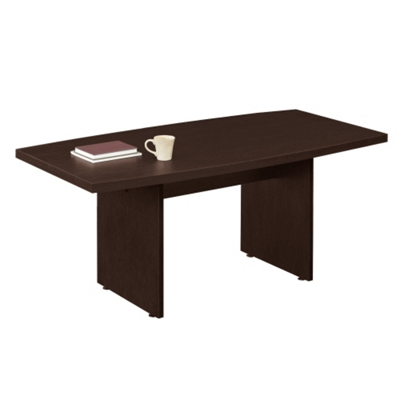 6' Boat-Shaped Conference Table