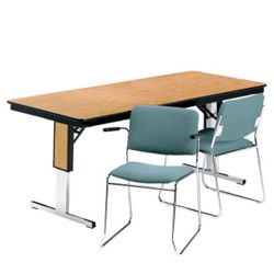 "Rectangular Folding Conference Table - 72"" x 30"""