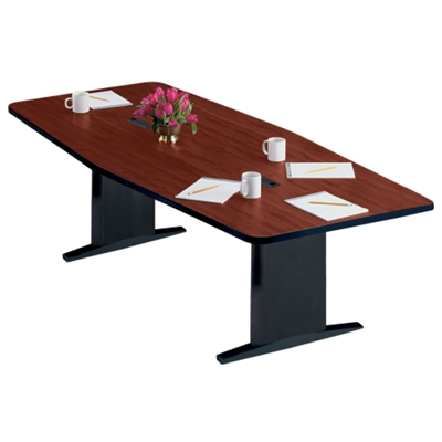 "Boat Shape Conference Table - 96"" x 48"""