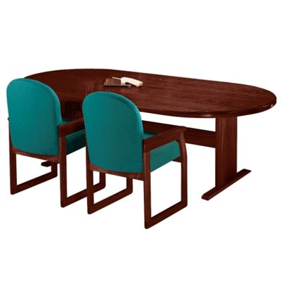 "Oval Conference Table - 96"" x 42"""