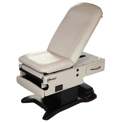 Mobile Power Hi-Lo Exam Table with Manual Back and Hand-Foot Control