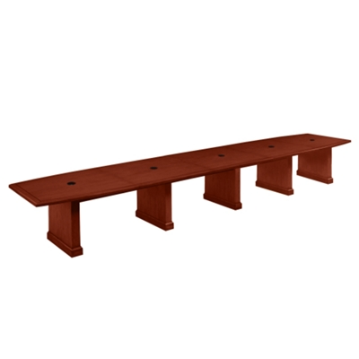 20' Conference Table with Grommets