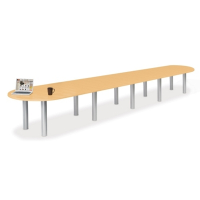 20' W Racetrack Conference Table
