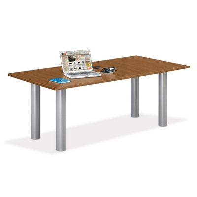 6' W Conference Table with Data Ports