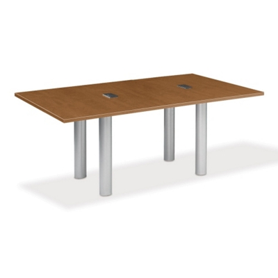 8' W Conference Table with Data Ports