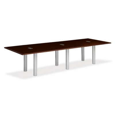 12' W Conference Table with Data Ports