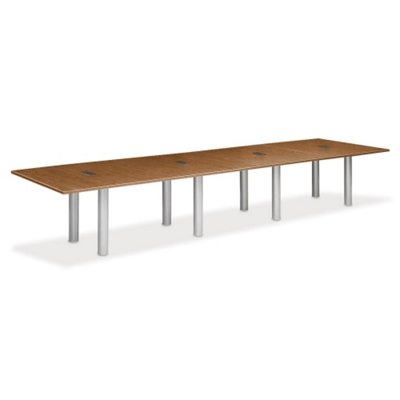 16' W Conference Table with Data Ports
