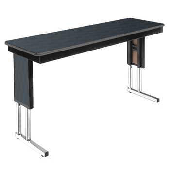 Adjustable Height Folding Leg Seminar Table X And - Adjustable height conference table