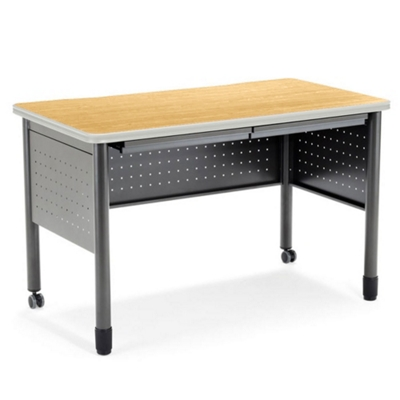 """47""""W Table Desk with Drawers"""