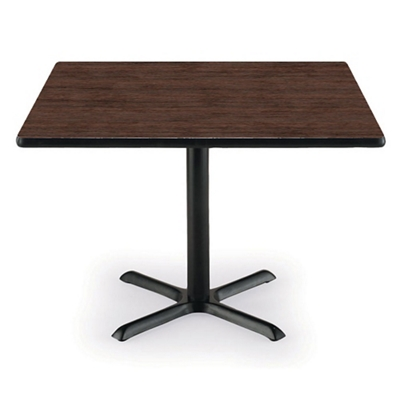 "42"" Square X-Base Breakroom Table"