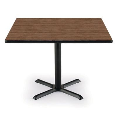 "36"" Square X-Base Breakroom Table"