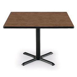 "36"" Square X-Base Breakroom Table"