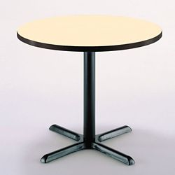 "42"" Round X-Base Breakroom Table"
