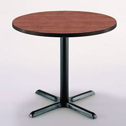 "36"" Round X-Base Breakroom Table"