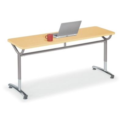 "Adjustable-Height Training Table 60""W x 20""D"