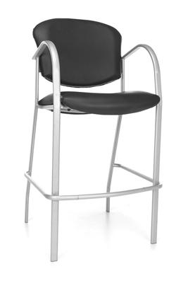 Cafe Height Vinyl Chair
