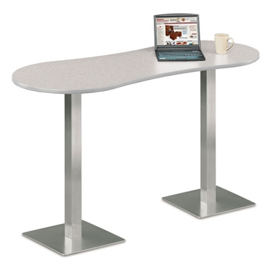 Mouse Over Image For A Closer Look. Peanut Shaped Bar Height Table ...