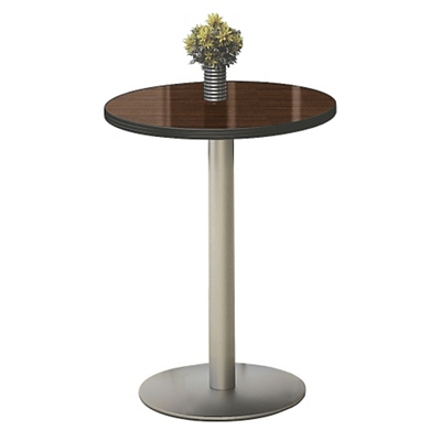 "30"" Round Barista Cafe Height Table"