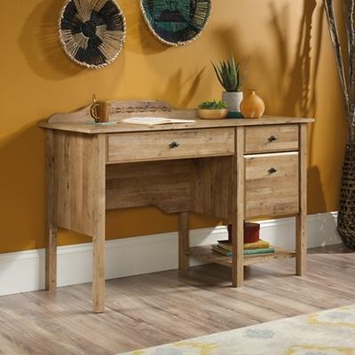 "Compact Single Pedestal Desk - 50""W x 19""D"
