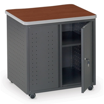 Utility Table with Doors