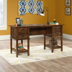 "Two Drawer Writing Desk - 59""W x 19.5""D"