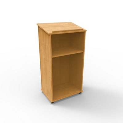 "Mobile 46""H Lectern"
