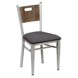 Frappe Cafe Chair with Clear Coat