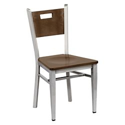 Frappe Wood Cafe Chair with Clear Coat