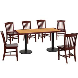 Breakroom Table and Chair Set