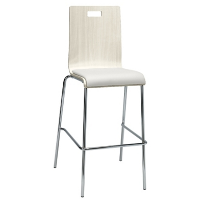 Barista Cafe Height Stool with Padded Seat