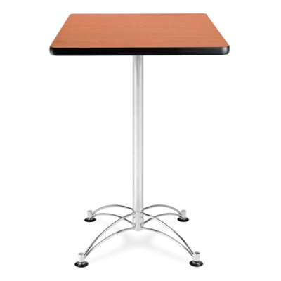 """24"""" Square Cafe Table with Chrome Base"""