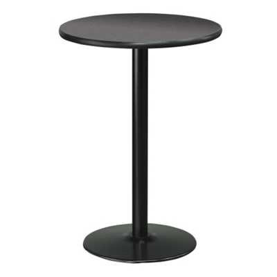 "Cafe au Lait 30"" Round Bar Height Table"