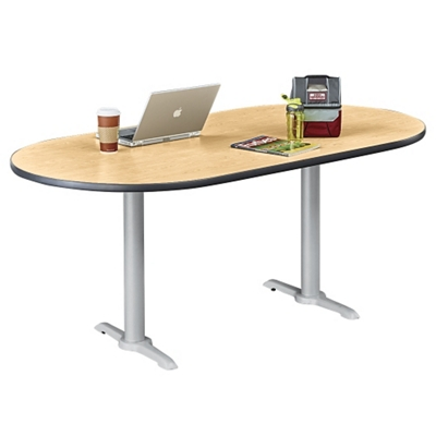 "Frappe Oval Table - 72""W"