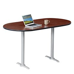 "Frappe Oval Bar Height Table - 72""W"