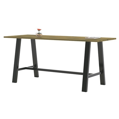 "Bar Height Collaborative Table - 72""W x 36""D"