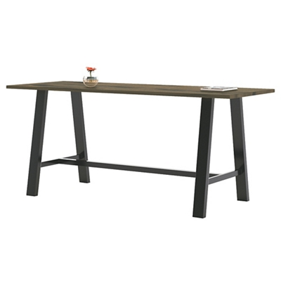 "Collaborative Standing Height Table 96""Wx42""D"