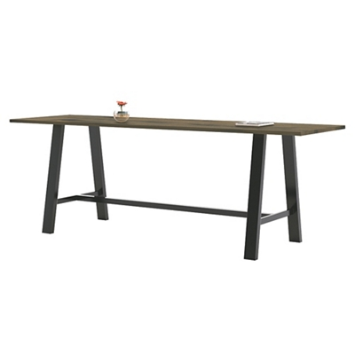 "Collaborative Standing Height Table 120""Wx42""D"