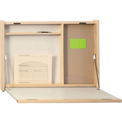 """Wall Mounted Workstation - 30""""W x 4""""D"""