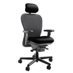 450 lb. Capacity Heavy-Duty Mesh Chair with Headrest