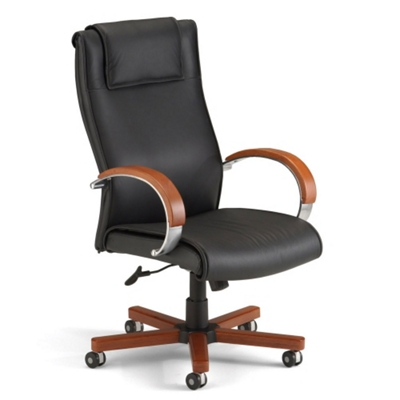 Apex High Grade Leather High Back Chair   50727 And More Lifetime Guarantee