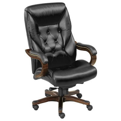 Kingston Big And Tall Leather Executive Chair, 50832