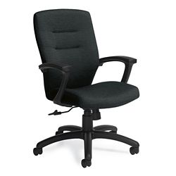 Fabric Medium Back Conference Chair